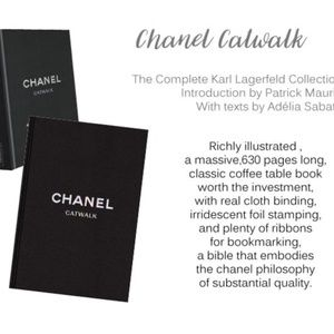 "XL Chanel ""Catwalk"" Coffee Table Decor Book"